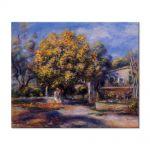 Tablou Arta Clasica Pictor Pierre-Auguste Renoir Houses at Cagnes 1905 80 x 100 cm