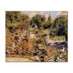 Tablou Arta Clasica Pictor Pierre-Auguste Renoir The garden at fontenay 1874 80 x 100 cm