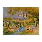 Tablou Arta Clasica Pictor Pierre-Auguste Renoir Laundresses at Cagnes 1912 80 x 100 cm