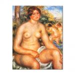 Tablou Arta Clasica Pictor Pierre-Auguste Renoir Seated bather 1914 80 x 100 cm