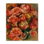 Tablou Arta Clasica Pictor Pierre-Auguste Renoir Bouquet of flowers 1915 80 x 90 cm