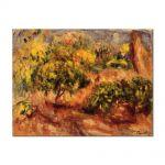 Tablou Arta Clasica Pictor Pierre-Auguste Renoir Cagnes landscape 1919 80 x 110 cm