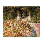 Tablou Arta Clasica Pictor Pierre-Auguste Renoir The garden In the Park 1875 80 x 100 cm