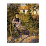 Tablou Arta Clasica Pictor Pierre-Auguste Renoir Nini in the garden 1876 80 x 90 cm