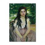 Tablou Arta Clasica Pictor Pierre-Auguste Renoir In summer The gypsy 1868 80 x 100 cm