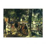 Tablou Arta Clasica Pictor Pierre-Auguste Renoir La Grenouillere 1869 80 x 110 cm