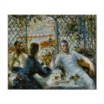 Tablou Arta Clasica Pictor Pierre-Auguste Renoir Lunch at the Restaurant Fournaise 1875 80 x 100 cm
