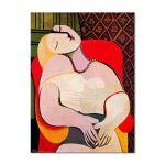 Tablou Arta Clasica Pictor Pablo Picasso Le Reve. A dream 1931 80 x 100 cm