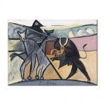 Tablou Arta Clasica Pictor Pablo Picasso Bullfight 1934 80 x 110 cm