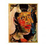 Tablou Arta Clasica Pictor Pablo Picasso Head 1938 80 x 100 cm