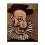 Tablou Arta Clasica Pictor Pablo Picasso Portrait of Jaime Sabartes as Grandee 1939 80 x 90 cm
