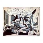 Tablou Arta Clasica Pictor Pablo Picasso The Charnel House. The mass grave 1945 80 x 100 cm
