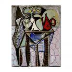 Tablou Arta Clasica Pictor Pablo Picasso Still life on a table 1947 80 x 100 cm