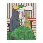 Tablou Arta Clasica Pictor Pablo Picasso Bust of a Woman 1944 80 x 100 cm
