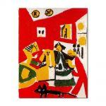 Tablou Arta Clasica Pictor Pablo Picasso Las Meninas, after Diego Velazquez 1958 80 x 100 cm