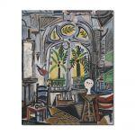 Tablou Arta Clasica Pictor Pablo Picasso The Studio 1955 80 x 100 cm