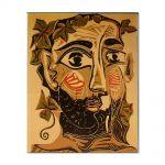 Tablou Arta Clasica Pictor Pablo Picasso Bearded man 1961 80 x 100 cm