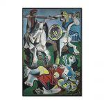 Tablou Arta Clasica Pictor Pablo Picasso The Abduction of Sabines 1963 80 x 120 cm