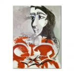 Tablou Arta Clasica Pictor Pablo Picasso Bust of woman 1965 80 x 100 cm