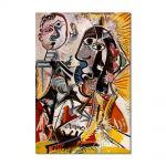 Tablou Arta Clasica Pictor Pablo Picasso Big heads 1968 80 x 120 cm