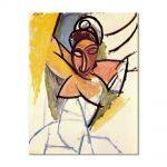 Tablou Arta Clasica Pictor Pablo Picasso A girl from Avignon 1907 80 x 100 cm