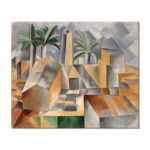 Tablou Arta Clasica Pictor Pablo Picasso Brick Factory at Tortosa 1909 80 x 100 cm
