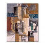 Tablou Arta Clasica Pictor Pablo Picasso Guitar and Violin 1912 80 x 90 cm