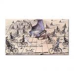 Tablou Arta Clasica Pictor Salvador Dali Study for Sentimental Colloquy 1944 80 x 140 cm