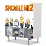 Comoda cu 4 Usi Art Work pentru Copii Animatie Despicable Me 2 Afis , 84 x 84 cm