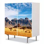 Comoda cu 4 Usi Art Work Peisaje In desert, 84 x 84 cm