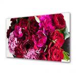 Tablou Canvas Luminos in intuneric VarioView LED Flori Buchet de flori