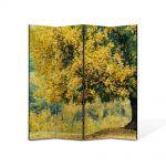 Paravan de Camera ArtDeco din 4 Panouri Peisaj Copac batran 105 x 150 cm
