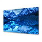 Tablou Canvas Peisaj Albastru in oglinda