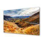 Tablou Canvas Peisaj Drum pe munte