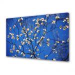 Tablou VarioView MoonLight Fosforescent Luminos in intuneric Peisaje Flori cu albastru intens