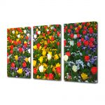 Set Tablouri Multicanvas 3 Piese Peisaj O multitudine de culori