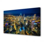 Tablou Canvas Chicago Colorat