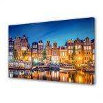 Tablou Canvas Lumini in Amsterdam