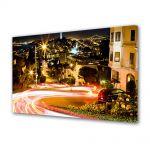 Tablou Canvas Luminos in intuneric VarioView LED Urban Orase Trafic