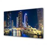 Tablou Canvas Luminos in intuneric VarioView LED Urban Orase Dubai