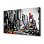Tablou Canvas Luminos in intuneric VarioView LED Urban Orase Times Square New york