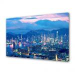 Tablou VarioView MoonLight Fosforescent Luminos in Urban Orase Lumini in Hong Kong
