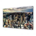 Tablou VarioView MoonLight Fosforescent Luminos in Urban Orase Manhattan New York
