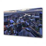Tablou Canvas Luminos in intuneric VarioView LED Urban Orase Melbourne Australia