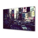 Tablou Canvas Luminos in intuneric VarioView LED Urban Orase Trafic in New York