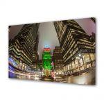 Tablou Canvas Luminos in intuneric VarioView LED Urban Orase Craciunul la New York