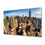 Tablou Canvas Luminos in intuneric VarioView LED Urban Orase New York