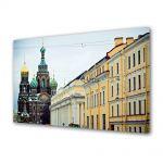 Tablou Canvas Luminos in intuneric VarioView LED Urban Orase St Petersburg Russia