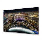 Tablou Canvas Fantani la Bellagio Las Vegas