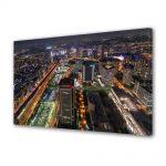 Tablou Canvas Luminos in intuneric VarioView LED Urban Orase Tokyo